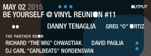 Danny Tenaglia - May 2, 2015 @ Output (Brooklyn)