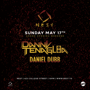 Danny Tenaglia - May 17, 2015 @ Nest (Toronto) @